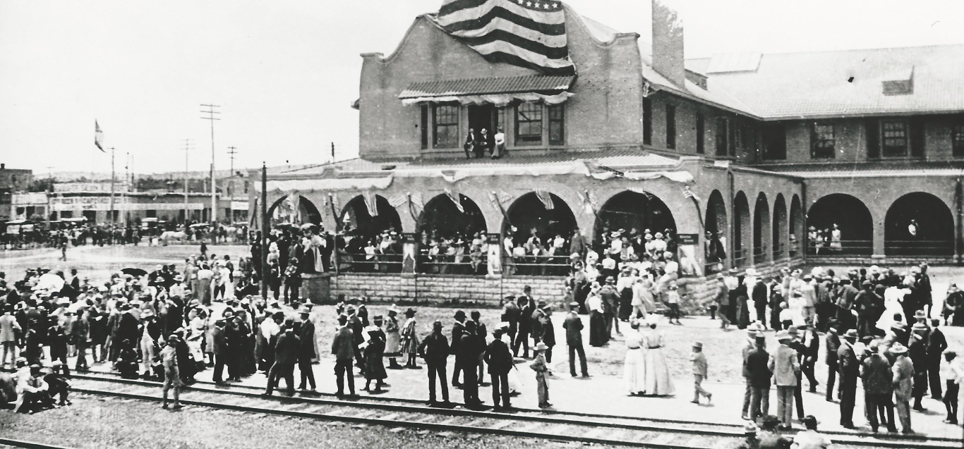 Historic image of Castaneda Hotel Las Vegas NM